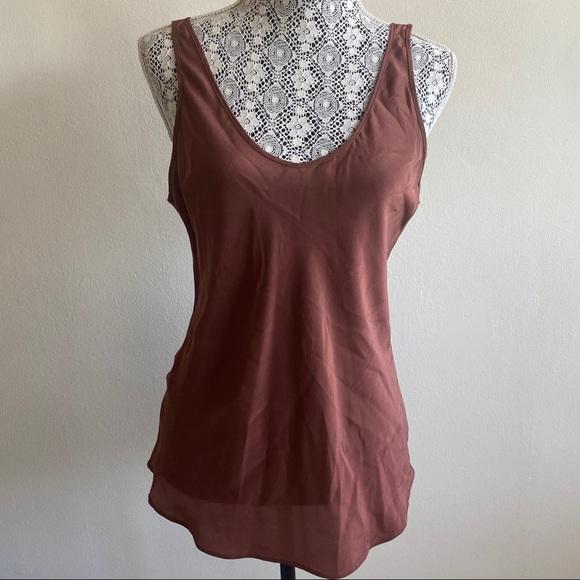 Aritzia Babaton 100% Silk Blouse Sz Small